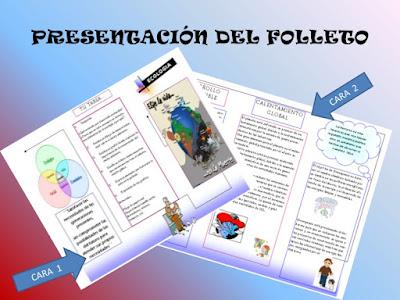 Resultado de imagen de EJEMPLOS DE FOLLETOS A MANO Y A WORD