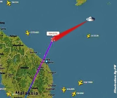 MUFON State Director Claims Malaysia Airlines Flight MH370 Was Abducted by ET?