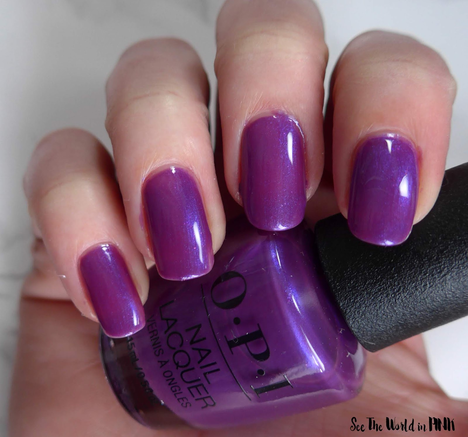 Manicure Monday - OPI Tokyo Collection for Spring and Summer 2019 Samurai Breaks a Nail
