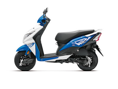 New Honda Dio side look image