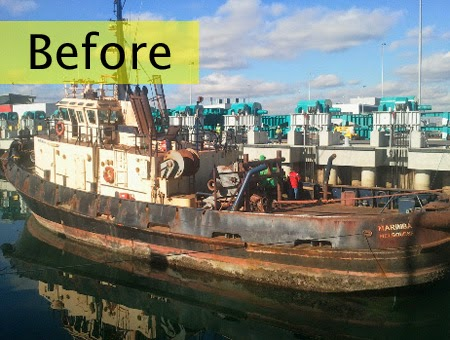 Abrasive blasting has proven itself to be the most effective cost-efficient means of removing contaminants and marine build up from ships, boats and yachts of all types, as well as all kinds of marine-based structures, machinery and equipment