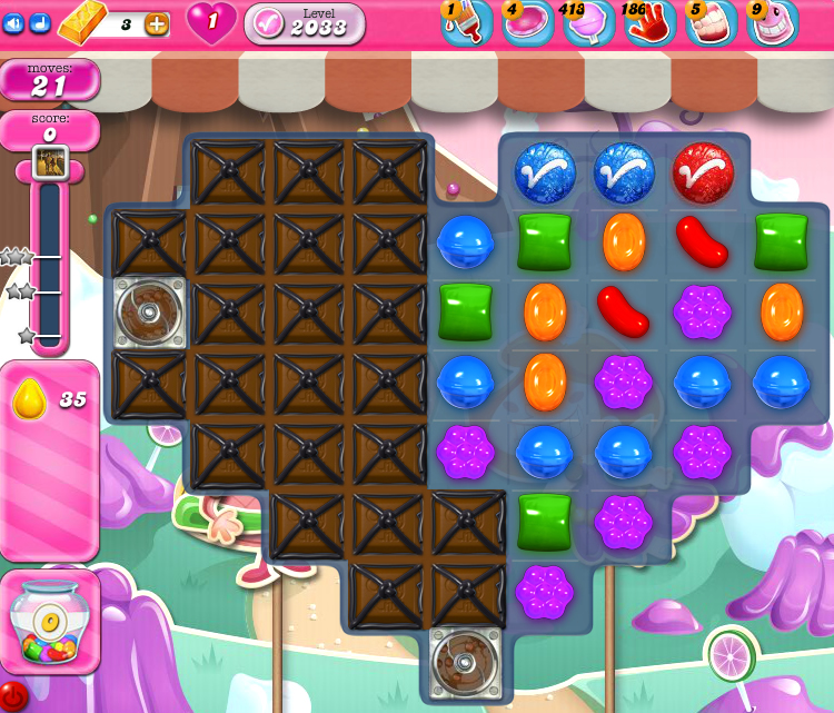 Candy Crush Saga 2033