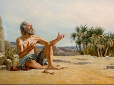 """JÓ EXISTIU MESMO ?Teria existido uma pessoa como Jó? """"Na terra de Uz vivia um homem chamado Jó""""."""