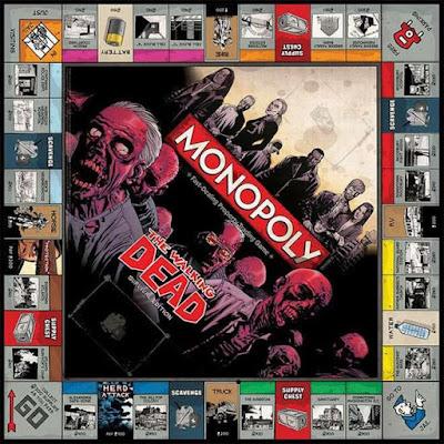 la version Monopoly de The Walking Dead