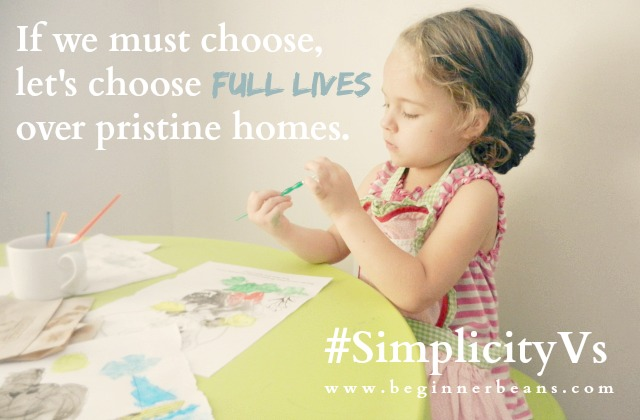 Let's Choose Full Lives #simplicityvs #ebook