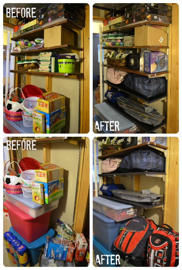 Beautiful Storage Room Organization #20 - Storage Room Organization In One Day A Little Tipsy