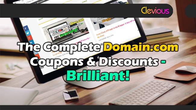 The Complete Domain.com Discounts & Coupons - Clevious