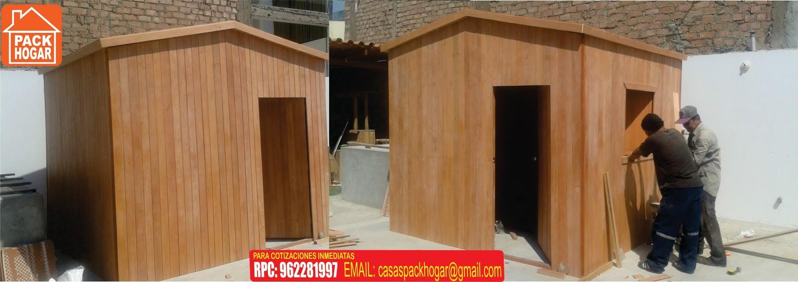 Casetas prefabricadas para terrazas packhogar for Casetas para terrazas