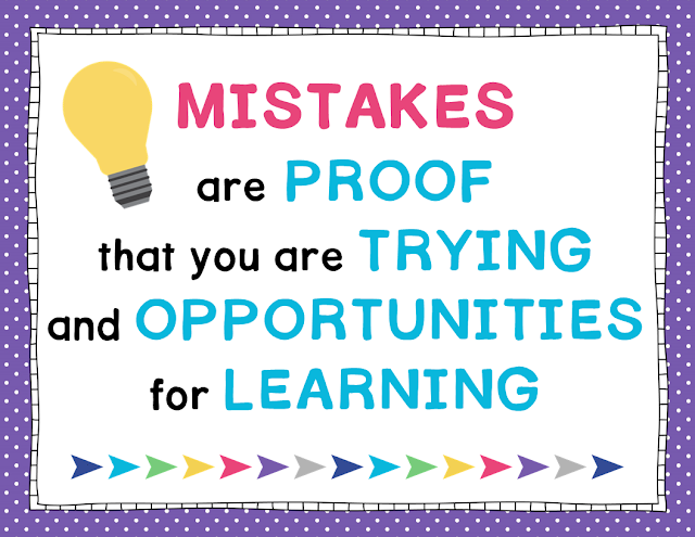 Free Growth Mindset Poster