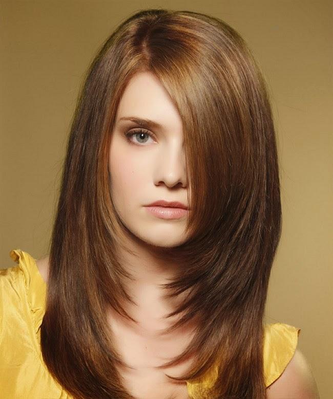 Cortes para cabello lacio en capas