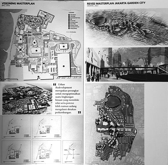 Masterplan yang pernah digarap Danisworo