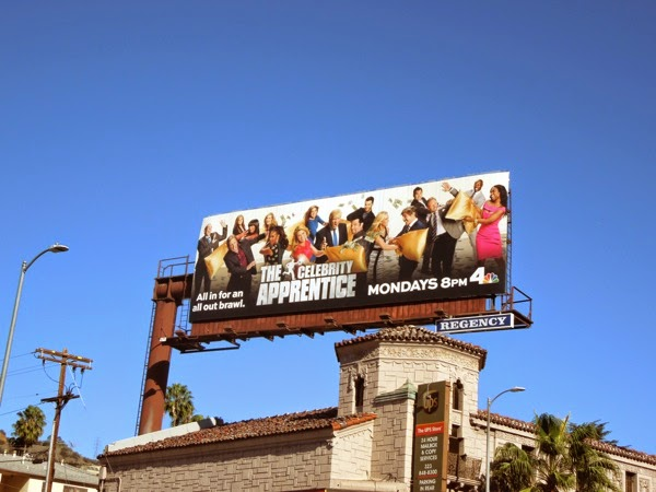 Celebrity Apprentice season 14 billboard
