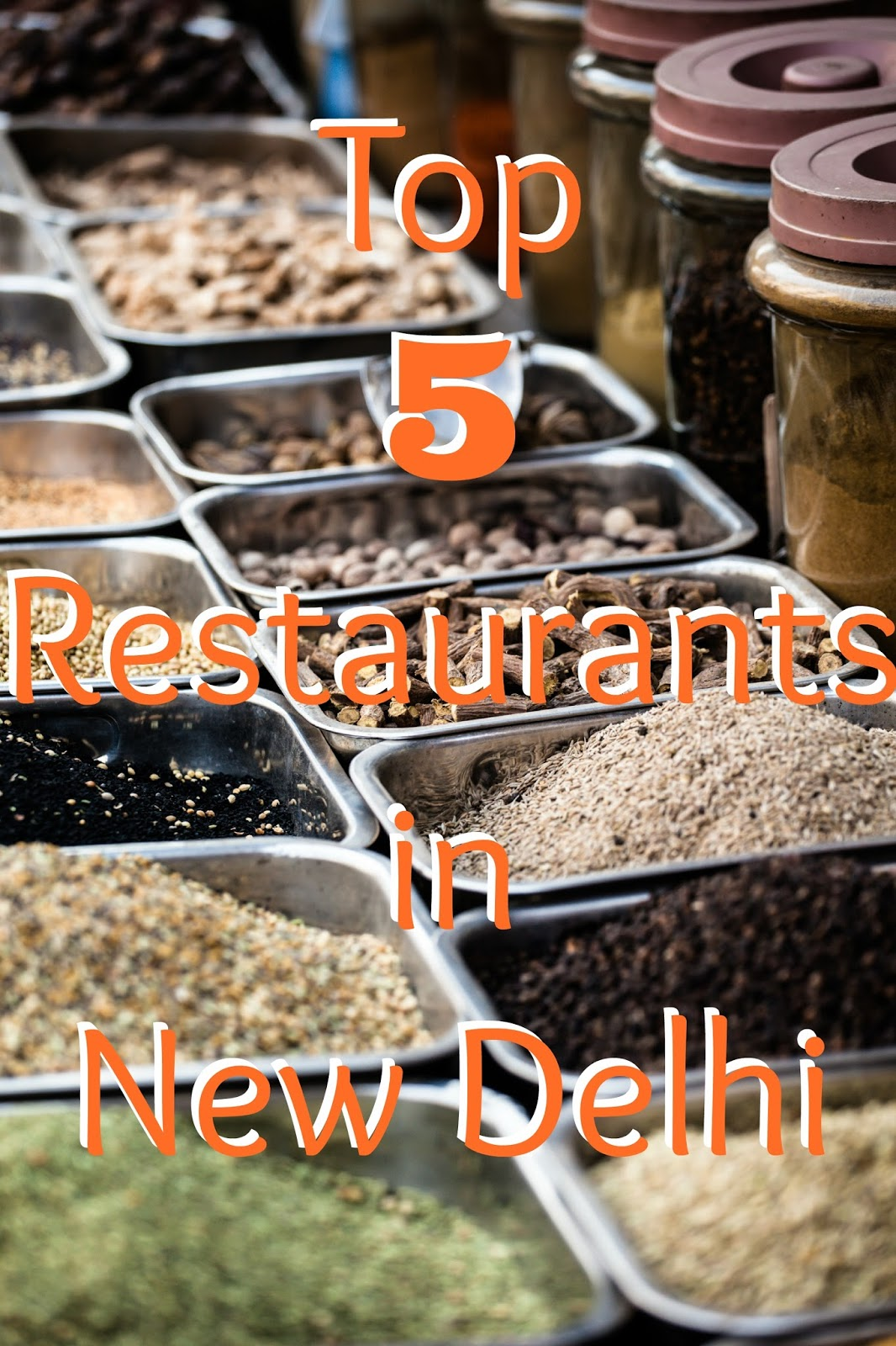 Love food? Check out the 5 places you shouldn't pass up when you visit New Delhi! #travel