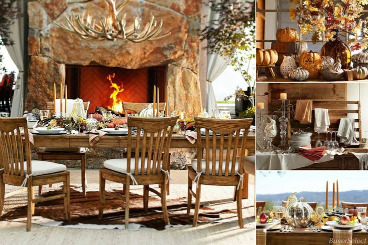 Tis Autumn Living Room Fall Decor Ideas: South Shore Decorating Blog: Fall And Thanksgiving Table