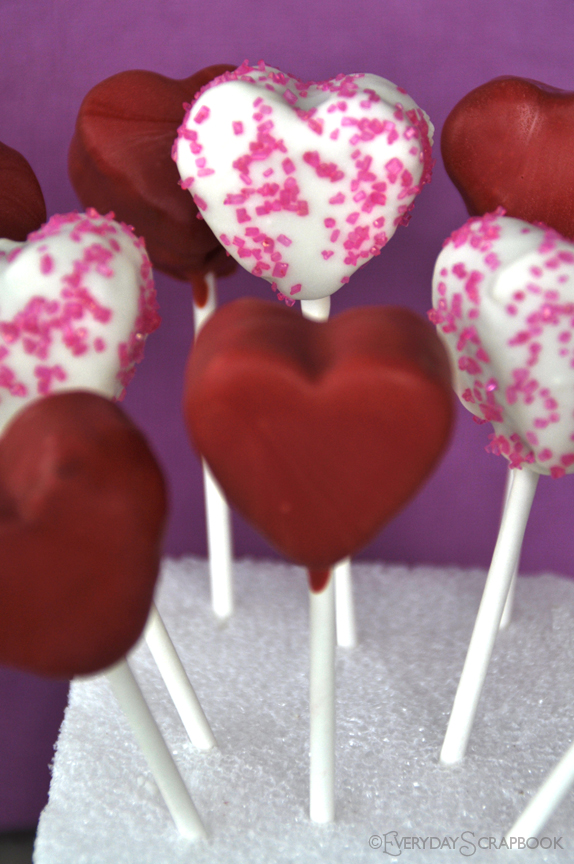 Valentine Cake Pop Romantic Ideas For Valentines Day