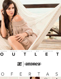 catalogo ofertas outlet Andrea julio agosto 2016