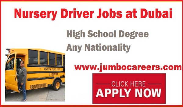 Drivers jobs in Dubai, Nursery jobs in Dubai UAE 2018,