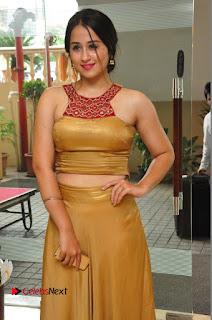 Actress Simrat Juneja Pictures in Golden Long Dress  0044.JPG