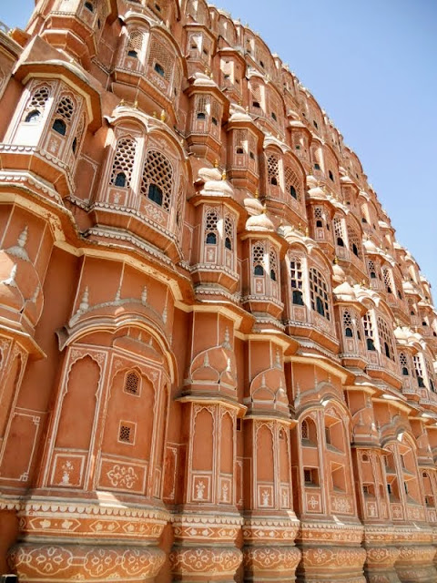 Points of interest in Jaipur India: Hawa Mahal