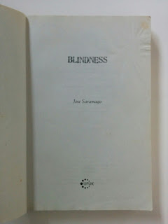 Jual Novel Blindness