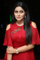 Poorna in Maroon Dress at Rakshasi movie Press meet Cute Pics ~  Exclusive 99.JPG