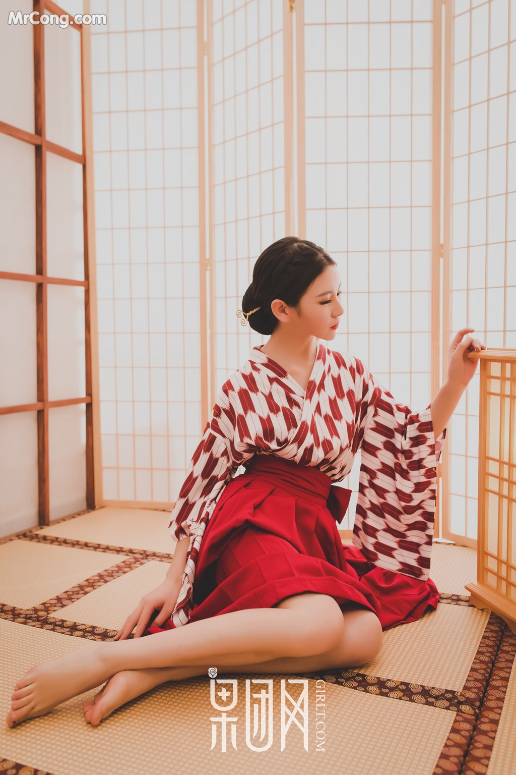 Image GIRLT-No.115-MrCong.com-001 in post GIRLT No.115 (51 ảnh)