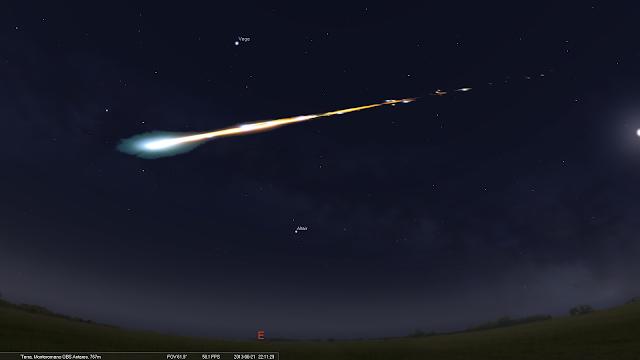 Risultati immagini per bolide astronomia