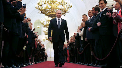Russia's Putin Sworn In For 4th Term As President