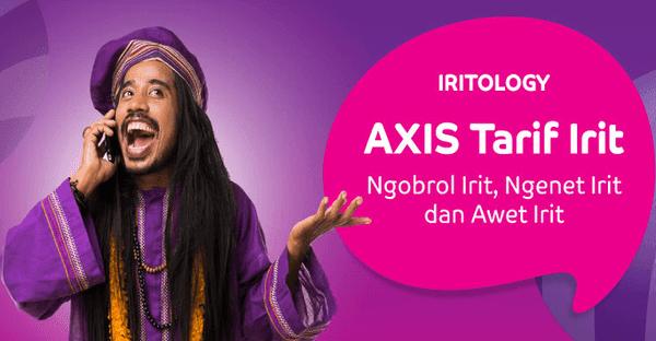 Streaming Musik Gratis dengan Axis Hitz