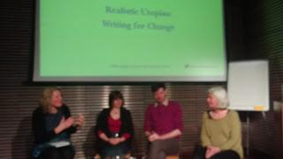L2R: Harriet Bulkley, Emma Howell, Darragh Martin and Jane Riddiford,