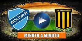 En vivo Bolívar vs The Strongest minuto a minuto