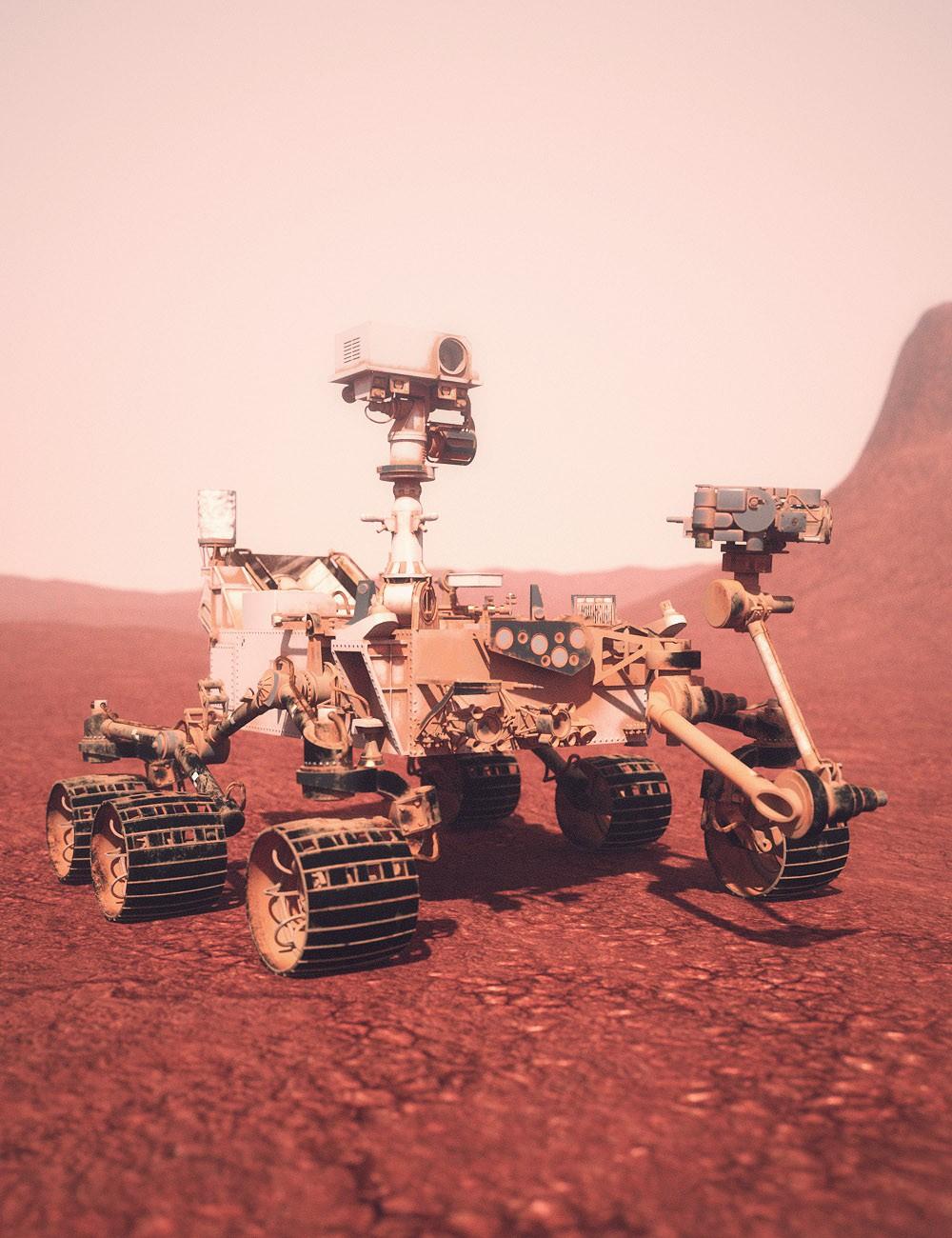 Download DAZ Studio 3 for FREE DAZ 3D Mars Rover