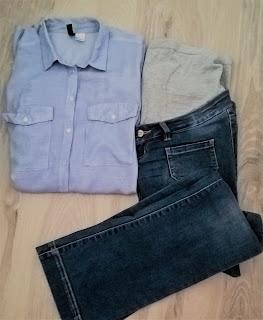 koszula ciążowa cena, jeansy ciążowe