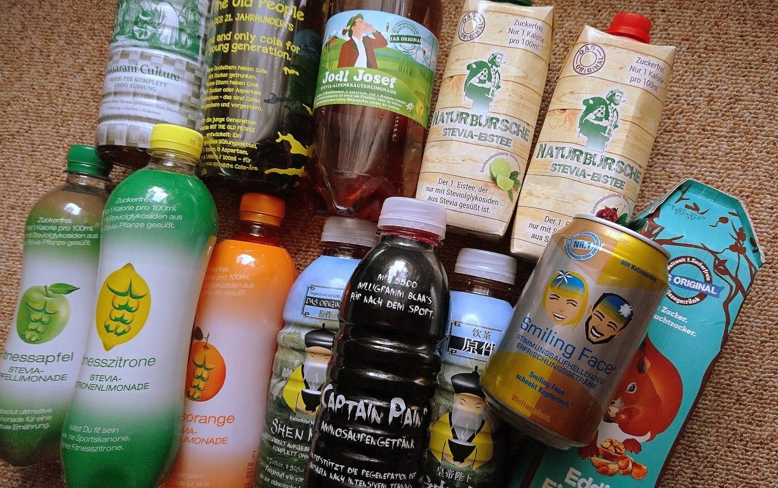 Jule´s Testblog: No Sugar Land - zuckerfreie Getränke
