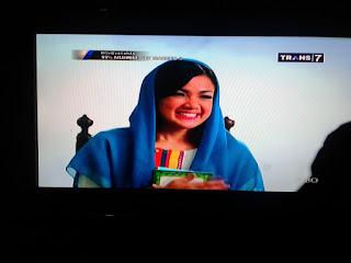 Kualitas Gambar TV Digital Menggunakan Antena TV Model Parabola Mini 8