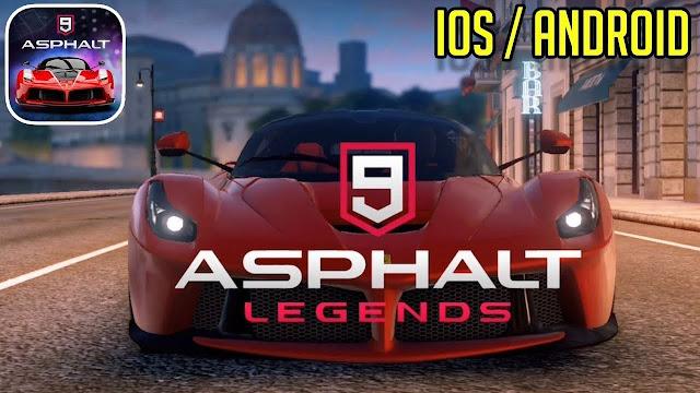 Asphalt 9: Legends Apk + Data for Android Free Download