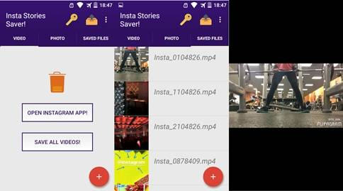 Cara donwload foto dan video instagram story pribadi di Android 2 Cara Donwload Instagram Stories di Android