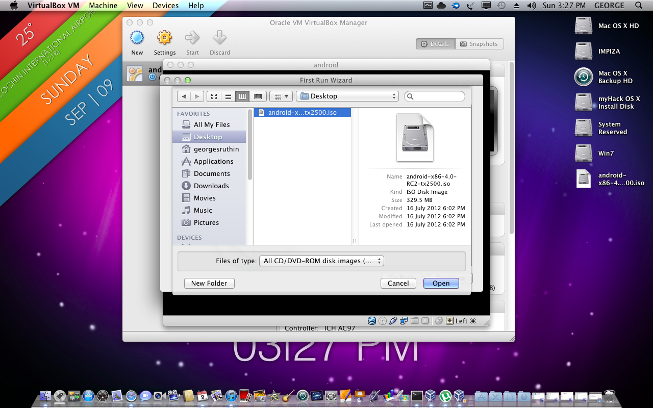 How to install android in your virtual box ! Mac , windows , Linux
