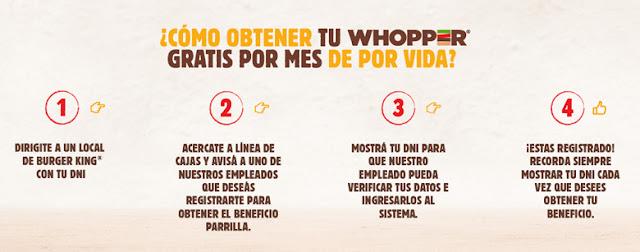 Burger King Argentina regala Whoppers de por vida a los que tengan el apellido 'Parrilla'