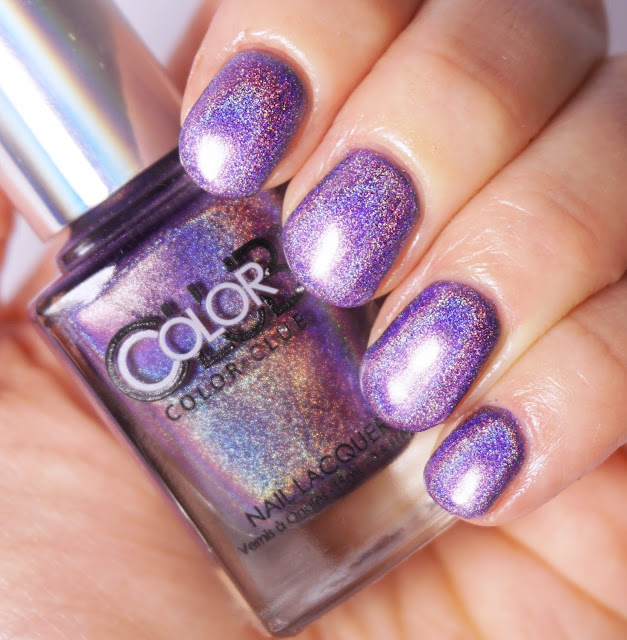 Color Club - Eternal Beauty Nails, lila, purple, Holo-Lack, Hologramm, Nagellack