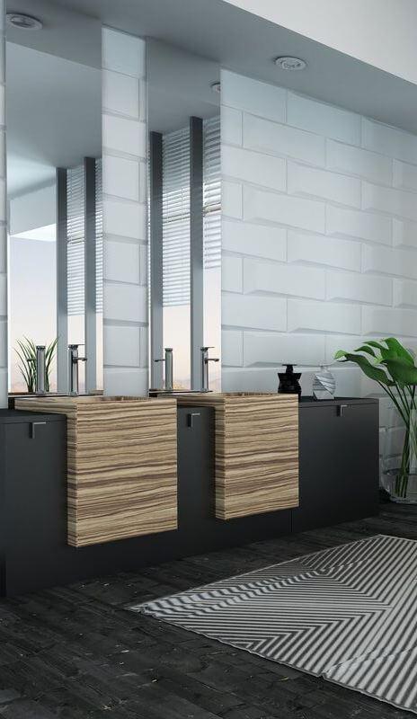 21 Beautiful Modern Bathroom Designs & Ideas