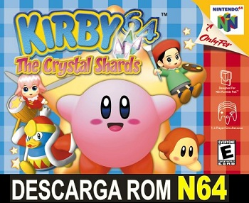 Kirby 64 The Crystal Shards N64 Rom Nintendo 64 Descargar