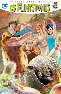 Capa da HQ Universo Hanna-Barbera Os Flintstones Vol 2