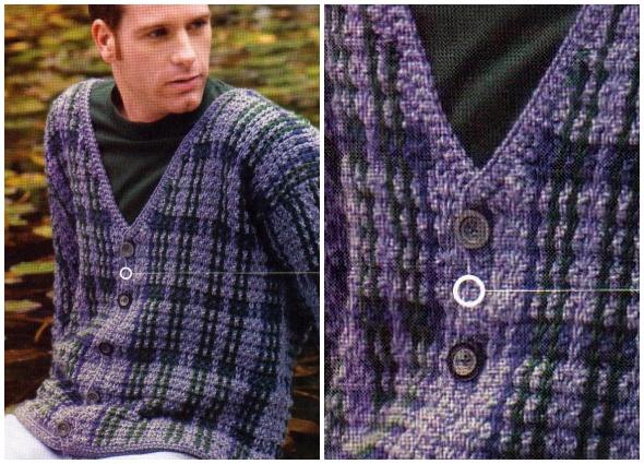 hombres, crochet, patrones, ganchillo, masculino