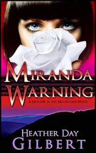 Miranda Warning - woman with short dark hair shown on front