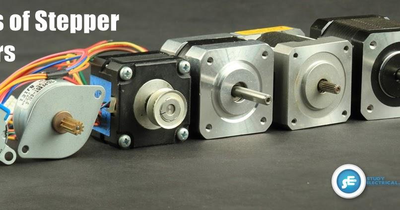 Types of stepper motor studyelectrical online for Types of servo motor