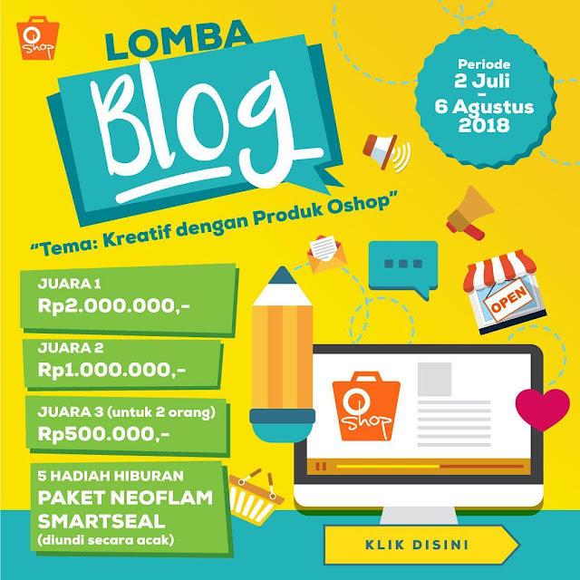 lomba blog oshop