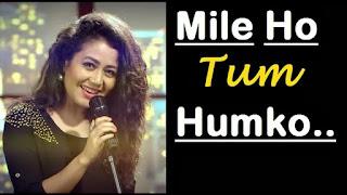 Mile Ho Tum Humko Bade Naseebon Se