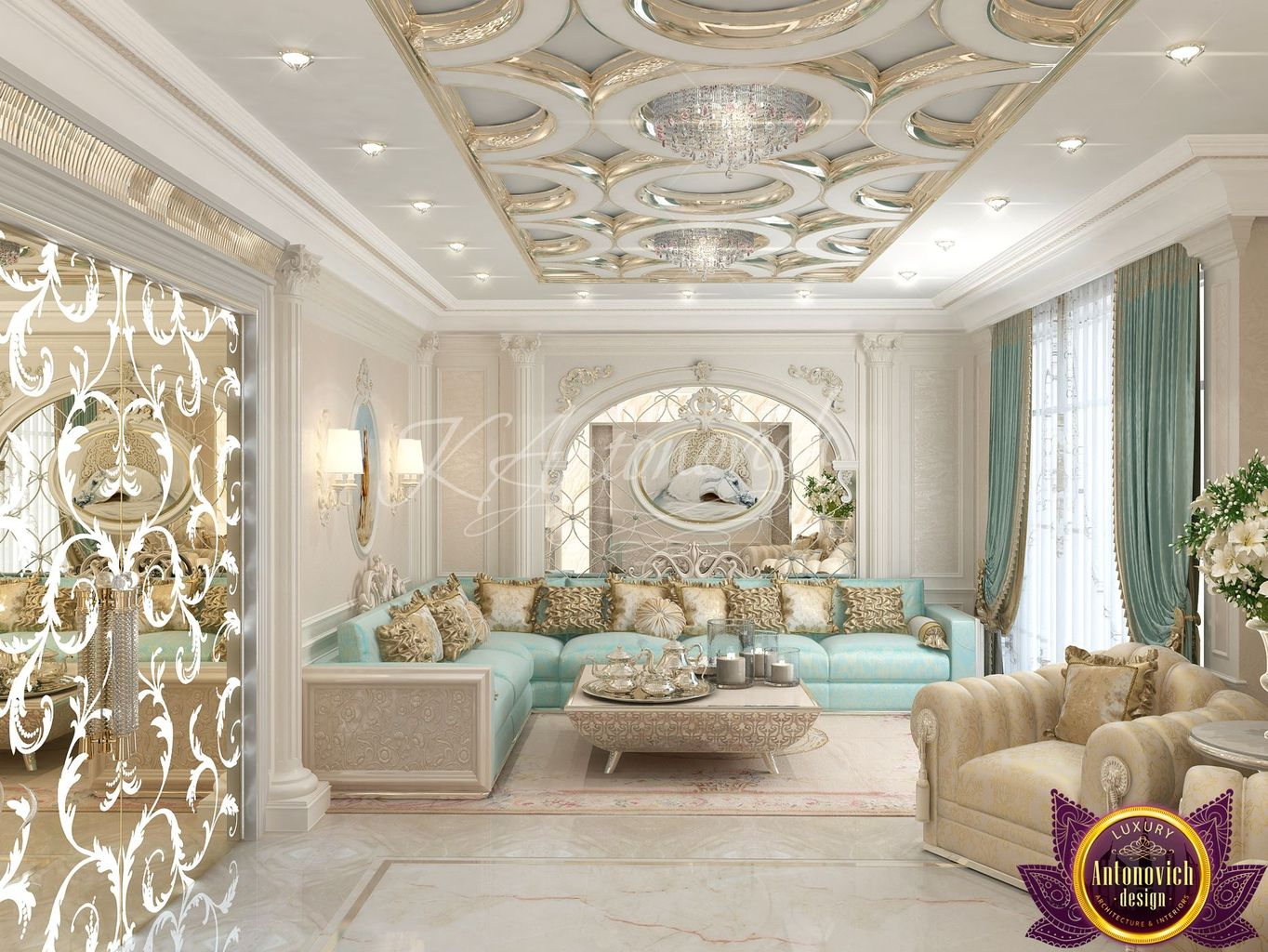 Luxury antonovich design uae - Decor oriental design interieur luxe antonovich ...