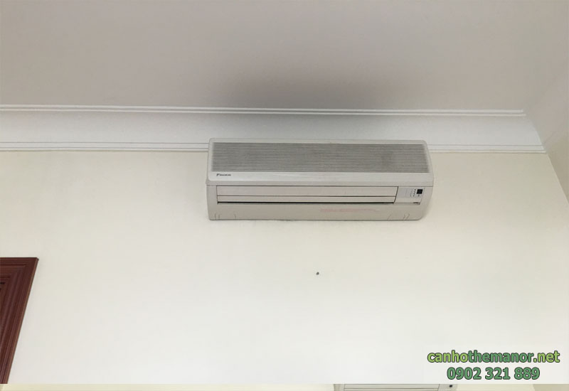 máy lạnh tại căn hộ The Manor cho thuê